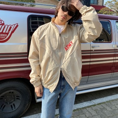 [OUTER] army windbreaker jacket